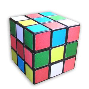 A Rubik-kocka összekeverve