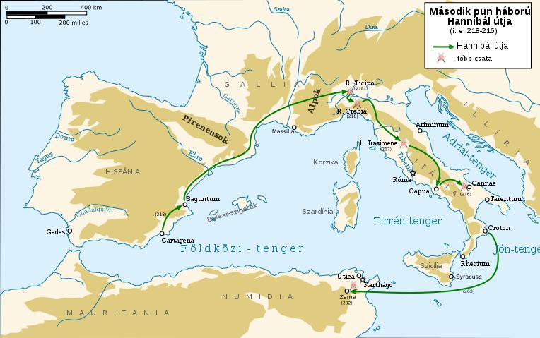 Hannibál útja